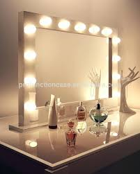 vanity dresser with lighted mirror posh makeup vanity with lights ikea diyhollywood vanity mirror large