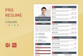 professional resume template 18 professional business resume templates for 2018