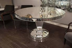 Mirrored Dining Room Furniture Custom Mirrored Dining Table For Sale At 1stdibs