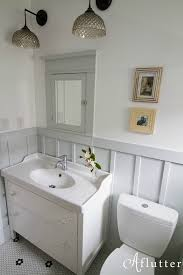 bungalow bathroom ideas how sarah made her small bungalow bath look bigger hooked on houses