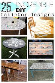 Table Top Ideas Remodelaholic 25 Incredible Diy Tabletop Designs