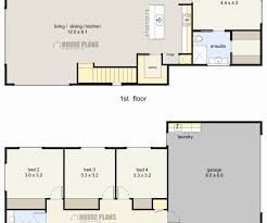 4 bedroom 2 story house plans beautiful gallery 2 story house designs new zealand home inspiration