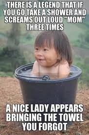 Boy Or Girl Meme - a nice lady appears bringing the towel you forgot funny baby girl