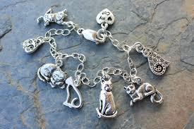 silver plated charm bracelet images Love my cat charm bracelet anklet silver plated kitty jpg