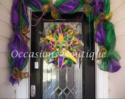 mardi gras door decorations mardi gras wreath mardi gras decoration door hanger front
