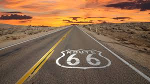 Historic Route 66 Map by Itinerary Take A Trip On Route 66