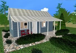Backyard House Plans by Thimble Peak Ii 288 Sq Ft Cozy Home Plans