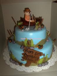 fish birthday cakes fishing birthday cake cakecentral