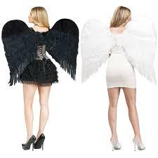Fallen Angel Halloween Costumes Feather Angel Wings Costume Accessory Halloween Fancy Dress