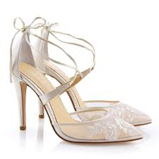 abella florence ivory wedding shoes