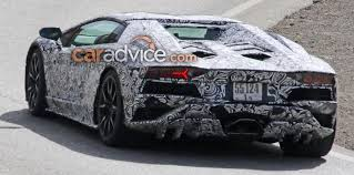 lambo jeep 2017 lamborghini aventador facelift spied photos 1 of 3