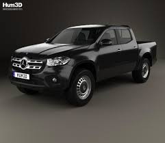 mercedes pickup 2017 mercedes benz x class pure 2017 3d model hum3d