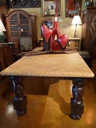 Travertine Dining Room Table 22 Best Rustic Western Decor Images On Pinterest Rustic Western