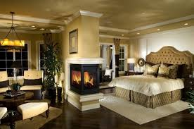 chambre adulte luxe design interieur idee chambre de luxe cheminee eclairage interieur