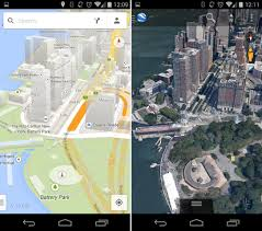 earth pro for android 3d world map major tourist attractions maps