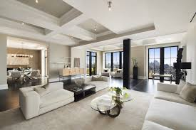 Two Sophisticated Luxury Apartments In NY Includes Floor Plans - Apartment building design plans