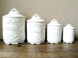 best kitchen canisters flour and sugar canisters flour sugar canisters ceramic