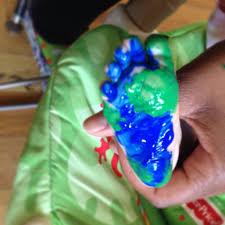 earth day infant art work baby arts pinterest infant art
