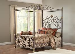 Black King Canopy Bed Metal Canopy Bed Frame Queen Simple How To Care Metal Canopy Bed
