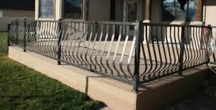 Decorative Wrought Iron Railings Decorative Metal Railing Custom Railing Baers Stair Railing Deck