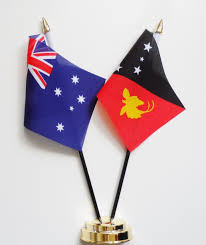 Austrslia Flag Australia And Papua New Guinea Friendship Table Flag