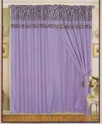 zebra curtains ebay