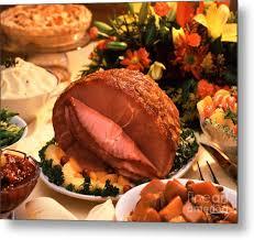 thanksgiving ham photograph by vance fox