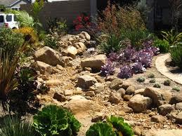 57 best gardening dry creek bed images on pinterest landscaping