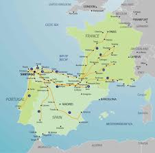 Arles France Map by Which Camino Route U2013 Camino Cyclist