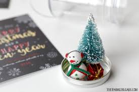 diy snowman snow globe ornament the farm gabs