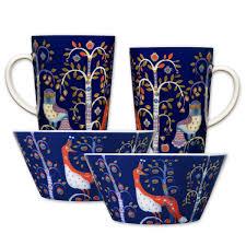 iittala taika blue dinnerware starter set iittala sale