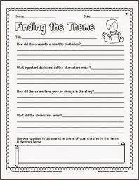 theme worksheets 6th grade worksheets