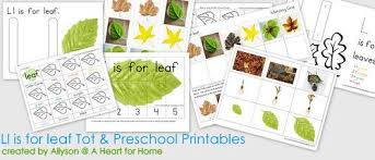 themed l l is for leaf fall themed skill worksheets