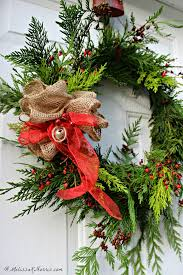 how to make an fashioned evergreen wreath k norris