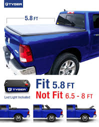 Dodge Ram Truck Bed Used - amazon com tyger auto tg bc3d1015 tri fold truck bed tonneau
