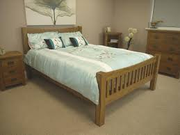 tucan rustic oak 4 u00276 curved bedframe double bed frame amazon co