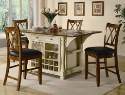 kitchen island with 4 chairs kitchen mesmerizing portable kitchen island with seating for 4