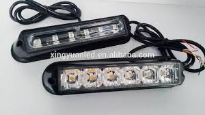 led strobe lights for motorcycles dc10 30v motorcycle led strobe light head 6w mini strobe warning