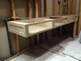 free bathroom vanity cabinet plans cut list build a custom bath