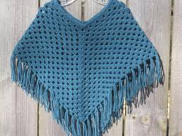 Handmade Poncho - choose color crochet poncho crochet toddler