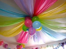 simple birthday party decorations at home perfect crafts for kids in inexpensive article happy party for you
