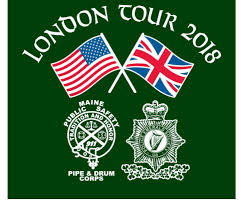 Maine Flag Image London Tour 2018 Maine Public Safety Pipe U0026 Drum Corps