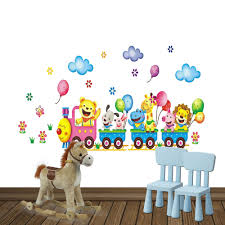 cat bunny bear and little girl in the rain free shipping zoo animal party train