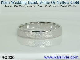 plain wedding band wedding band custom wedding bands for men in gold or sterling