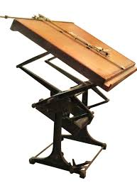 Drafting Table Cheap Industrial Architect S Drawing Table Architectural Salvage