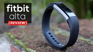 fitbit alta fitness wrist band fitbit alta review youtube