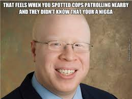 Albino Meme - albino black 1 cops 0 by hazique meme center