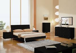 Bedroom Design Black Furniture Stylish Black Contemporary Bedroom Sets For White Or Gray Bedrooms