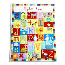 Customized Baby Personalized Baby Quilts U2013 Boltonphoenixtheatre Com