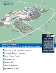 Penn State Map by Penn State Historical Markers